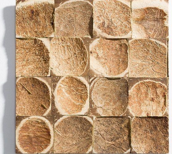 : Sustento Design : BATOK Coco Tiles in Natural finish allows for colour customization.