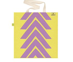 BUBBLE PINK   Screen printed eco-friendly bag   by BAGNANAS