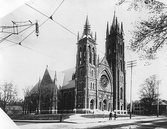 St. James Methodist Church, Montreal, QC, about 1905, via Flickr.