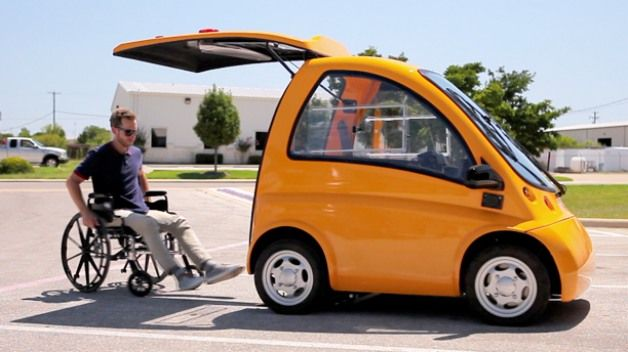 Kenguru EV may be the most affordable car option available for individuals in wheelchairs
