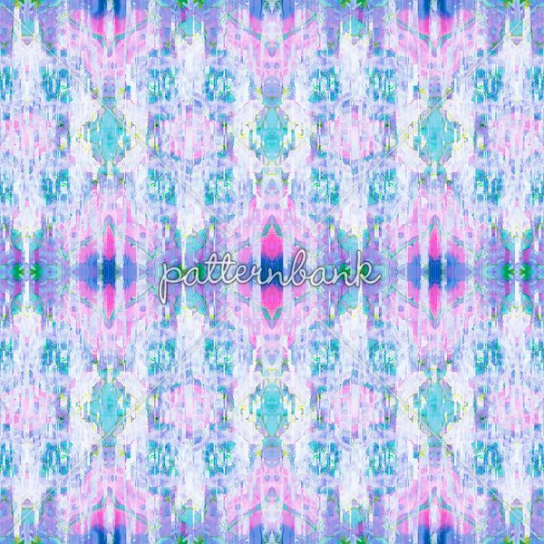 Ikat Dreams by Art, Love & Joy Designs, available to license at Patternbank.com. #textile #print #pattern #artloveandjoydesigns #patternbank #newonpatternbank