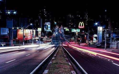 night in Campinas