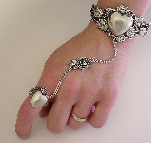 Bracelets with ring   Celtic Slave Bracelets, Celtic Bracelets, Celtic Jewelry from ...
