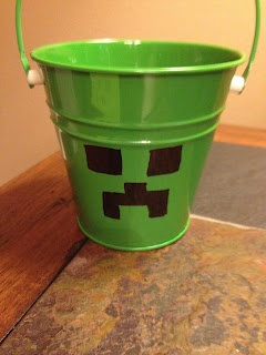 Cool idea for a mine craft party!