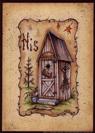 His Outhouse