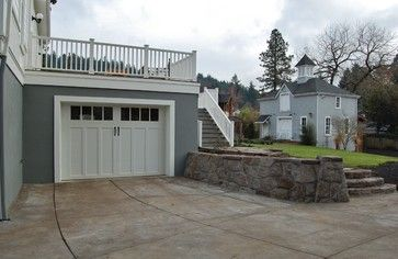 17 best images about home decor garage on pinterest for Garage with deck on top