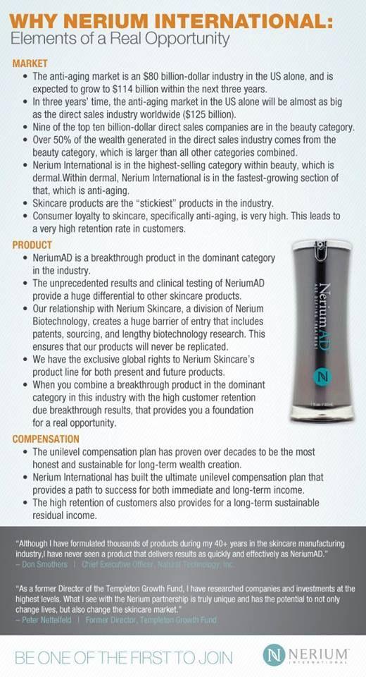 Why Nerium International??