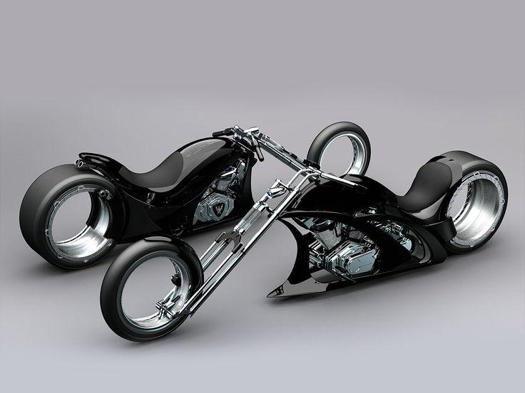 CUSTOM CHOPPER - motorcycles Wallpaper