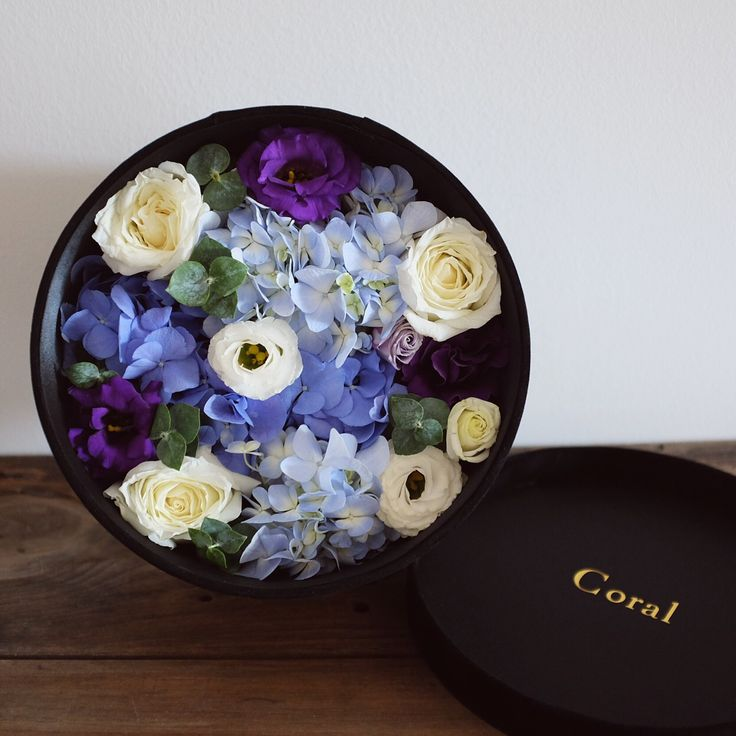 flowers box floral design