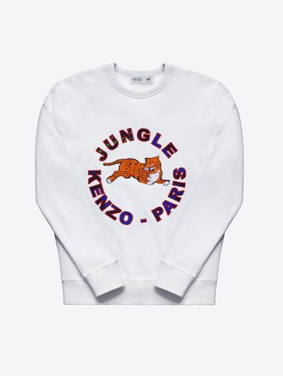 Kenzo x H&M sweatshirt - click through to see the full collection, with prices, here