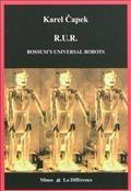 Un scientifique invente un robot que ses successeurs perfectionnent et produisent en masse. Les robots s'imposent dans la société comme une force de travail extraordinaire et les hommes, devenus anachroniques et inutiles, sont condamnés à l'inactivité et à l'oisiveté. L'humanité tombe en décadence et les robots se révoltent. Un roman visionnaire où apparaît pour la première fois le mot robot.