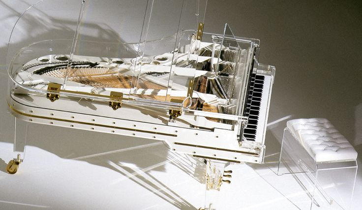 This crystal grand piano by Heintzman was auctioned and purchased by a private bidder for $3.22 million! The piano was played by renowned pianist Lang Lang during the Opening Ceremony of the Summer Olympics in Beijing in 2008.