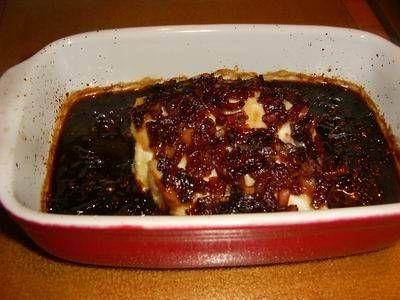 Het oorspronkelijke recept kwam ik tegen in een hele oude Tip Culinair. Het sprak mij aan en heb het wat aangepast. Mijn man en ik vonden het allebei...