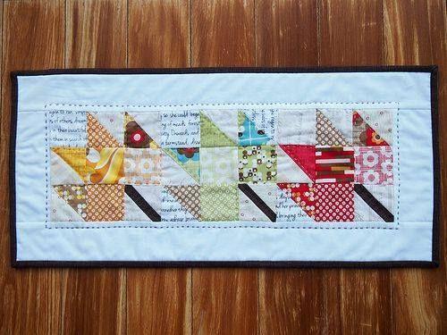 Maple Leaf Quilt Pattern Table Runner : folhas caminho de mesa e toalhas Pinterest Patchwork