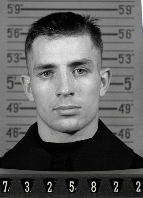 Jack Kerouac Naval Reserve Enlistment Photo 1943