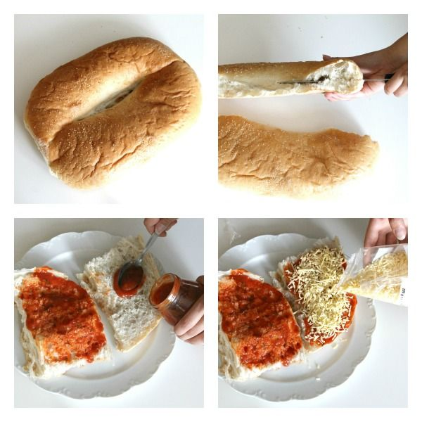 Ik ging laatst pizza maken met Turks brood, waardoor je snel een heerlijk krokante pizza krijgt.