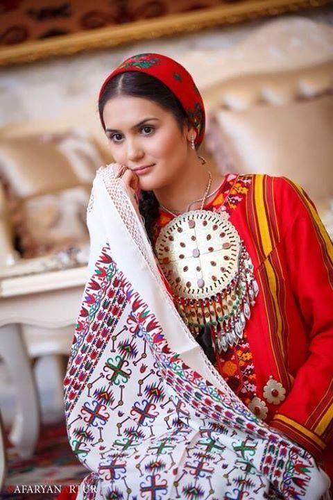 The Turkmen girl _ Türkmen gyz