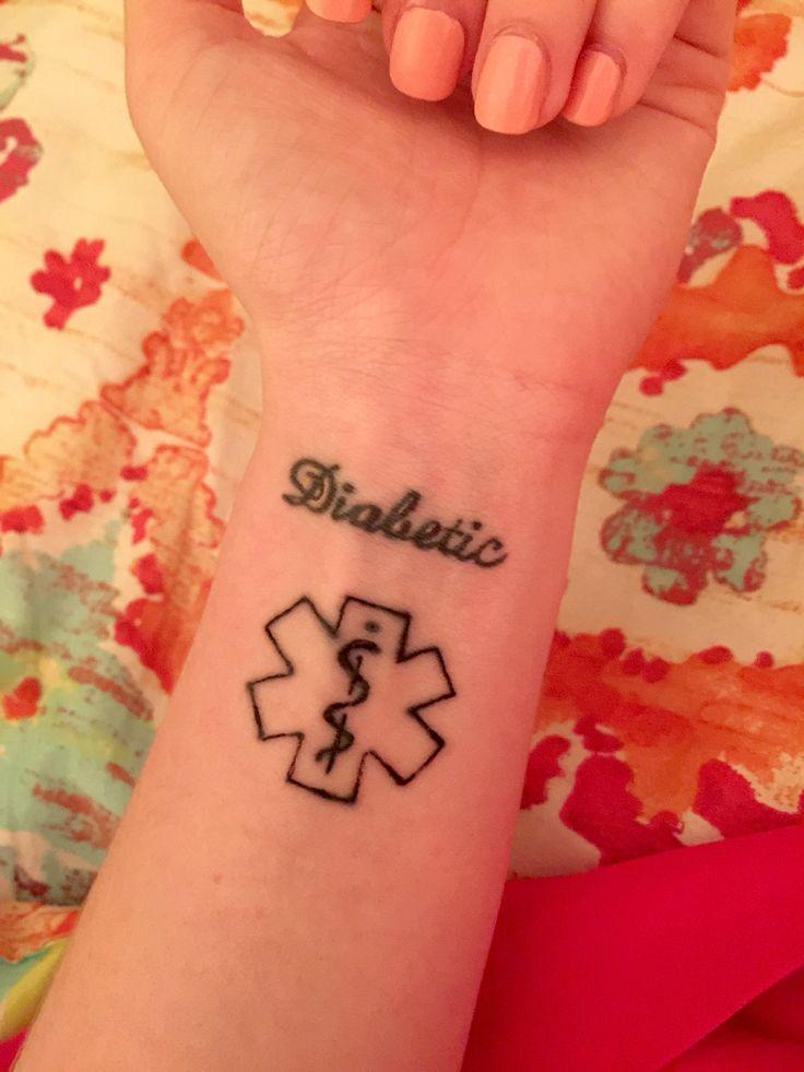 die besten 25 medical alert tattoo ideen auf pinterest medizinische warnung t towierung. Black Bedroom Furniture Sets. Home Design Ideas