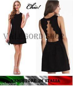 Vestito nero d estate