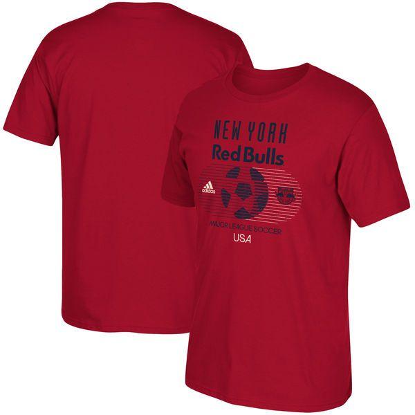New York Red Bulls adidas Soccer World Tri-Blend T-Shirt - Red - $27.99