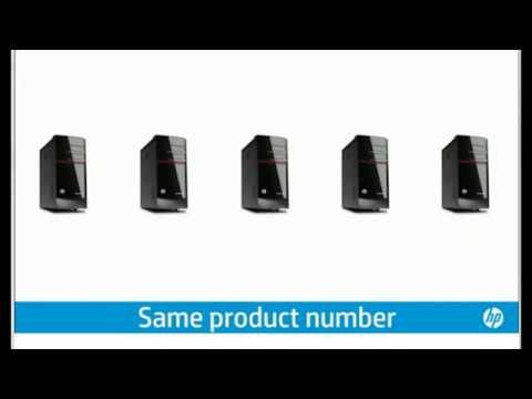How to check HP product Serial Number, Model Number and Product Number