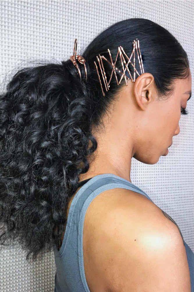 Image result for ponytail under graduation cap