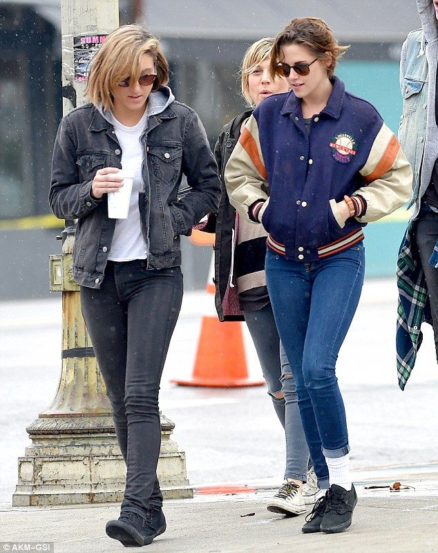 Back to reality: After a luxurious break in Hawaii, Kristen Stewart and her pal AliciaCargile grab coffee