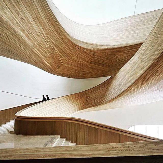 So desperately in love with this gorgeous vision. Genius work by MAD Architects for the Harbin Opera House.