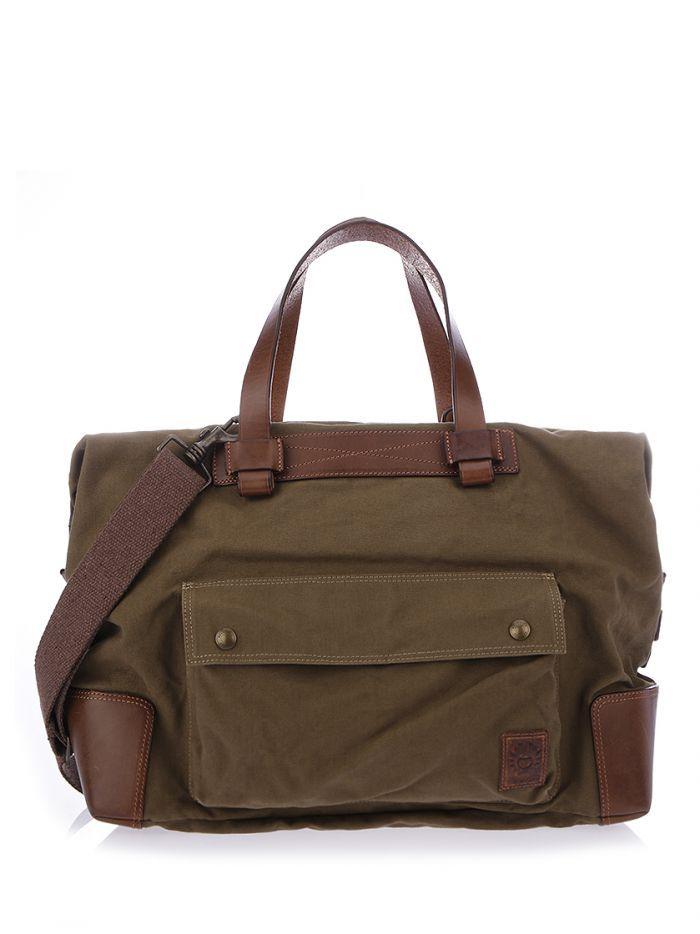 BELSTAFF ARMY COLONIAL MESSENGER BAG. #belstaff #bags #leather #canvas #