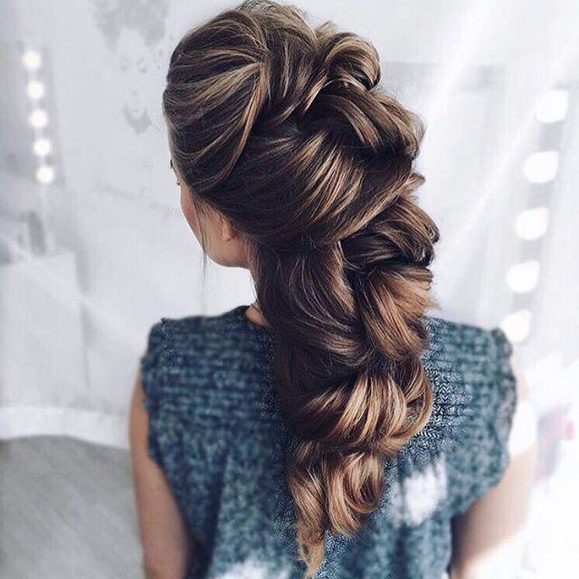 Fishtail Milkmaid Braid Up-Do — Luxy Hair Blog - All about hair!