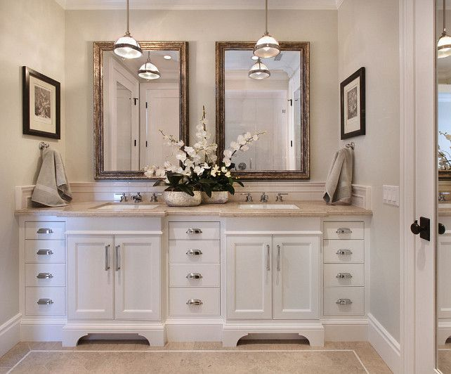 25 Best White Vanity Bathroom Ideas On Pinterest White Bathroom Cabinets Bathroom Countertops And Double Sink Vanity