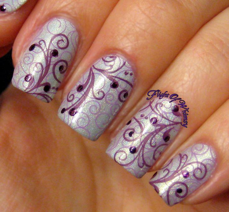 Twirls of Purple