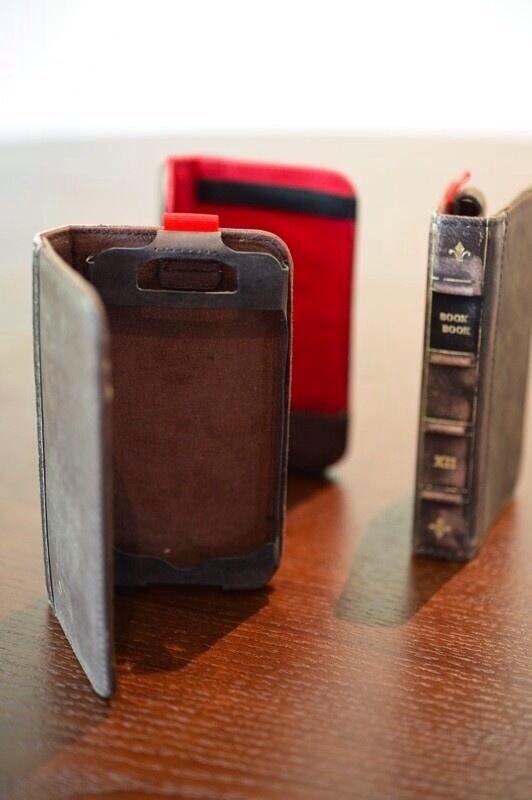 antique book iPhone cover