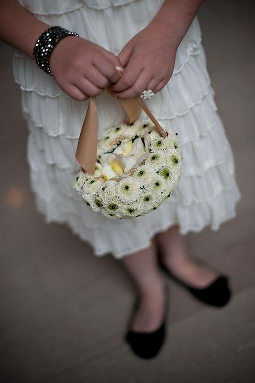 Flowers for the flower girl