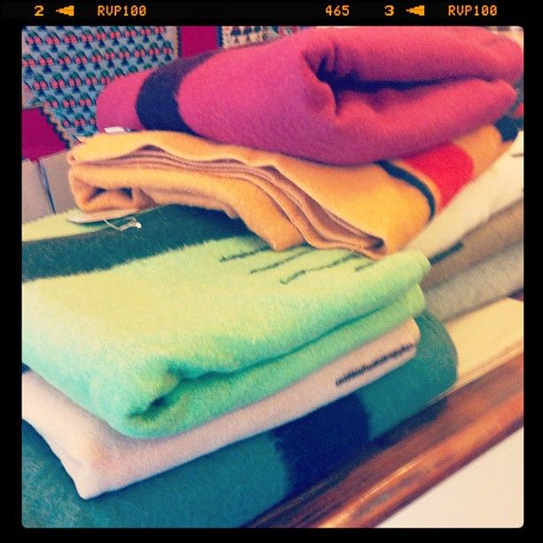 Beautiful vintage point blankets.