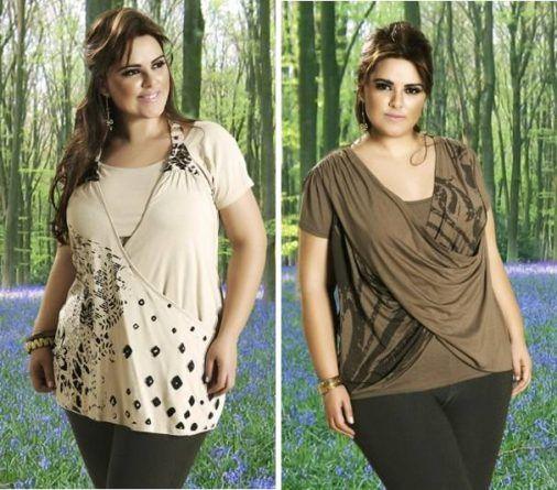 Blusas sobrepostas na coleção Verão 2011 da Cheia de Charme  [18]