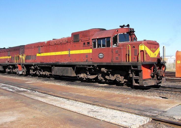 GE U20C, South African Class 33-000 no 33-002