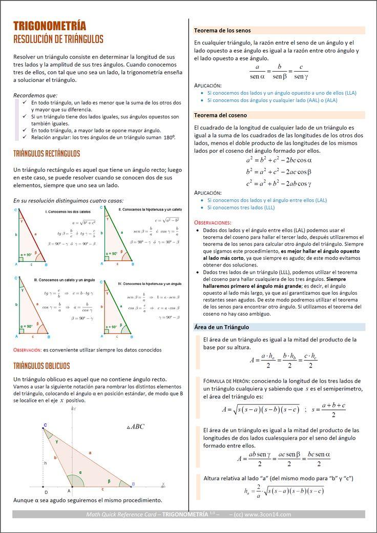 qrc trigonometria triangulos