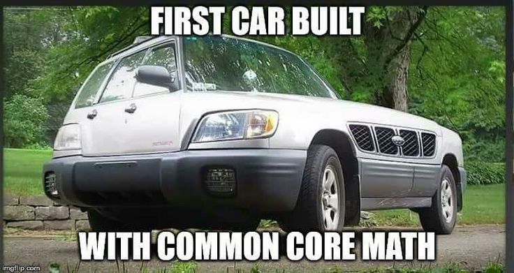 First car built using common core math