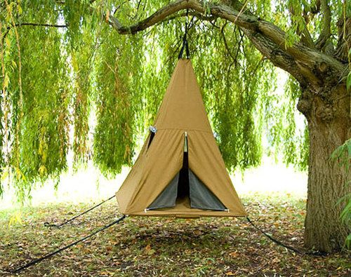 .Camps Ideas, Funny Inventions, Outdoor, Kids Tents, Trees Tents, Trees House, Funny Photos, Trees Swings, Tents Camps