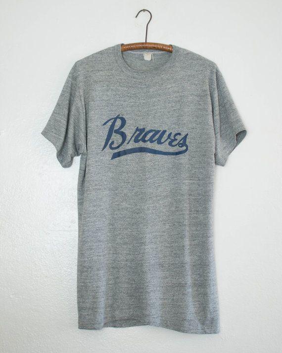 Atlanta Braves shirt XL by BabyStrangeVintage on Etsy