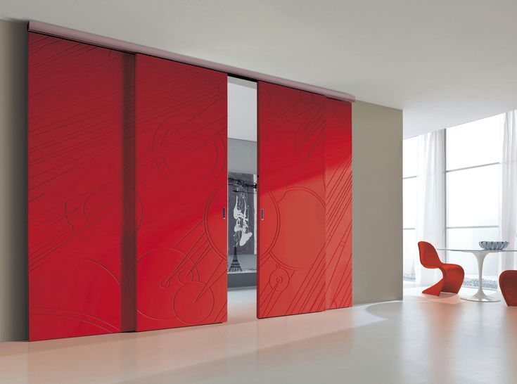 Sliding door PLANA WOOD - Bertolotto Porte