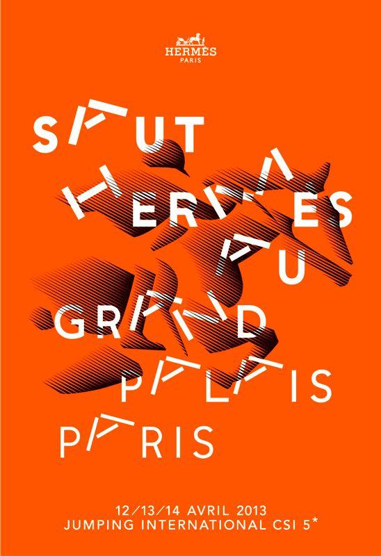 Hermès : Saut Hermès, jumping international CSI 5* / by Apeloig