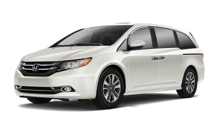 2015 Honda Odyssey Touring White
