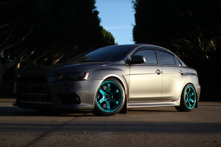 Perfect fitment, Perfect wheel color | Evolution | Pinterest | Evo ...