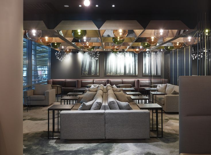Business Class Lounge At Oslo Airport Gardermoen Designed By Metropolis Arkitektur Design Photo