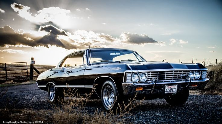 17 best images about 1967 chevy impala supernatural on - Supernatural car pics ...