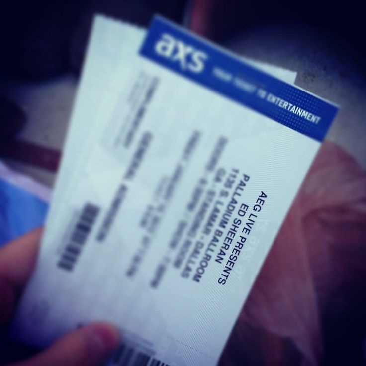 Ed Sheeran Concert Tickets // First Concert 2013