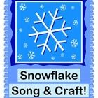 """SNOWFLAKE SONG!"" - LEARN ABOUT YOUR FIVE SENSES WITH A SONG AND CRAFT!  Use your Five Senses to learn about Snowflakes-- see them, hear them, even taste them as they fall ""from high to low""!  Make a pretty Snowflake Craft (template provided), and sing a Five Senses Song set to a great Irish Folk Tune!  Song notes provided.  What a wonderful Snowflake Song for your Holiday Program!  (7 pages)  Joyful Noises Express TpT!  $"