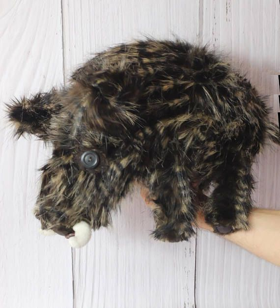#WildBoar #WoodlandPlushie #ForestLovers #WhimsicalAnimal